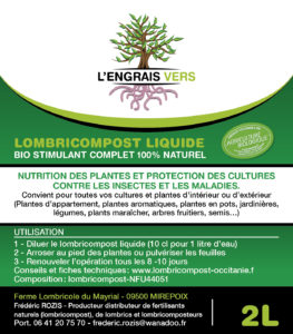 Notice Lombrithé L'Engrais Vers